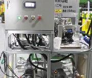 2液エマルジョン系接着剤吐出装置